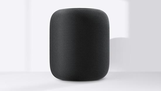 图为HomePod,来自苹果公司官网。