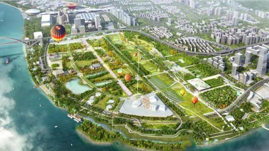 上海将现双子山 2021年黄浦江畔尽赏九峰三泖