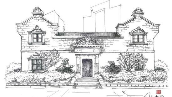 七旬女建筑师手绘上海石库门:有杜公馆 也有老虎窗