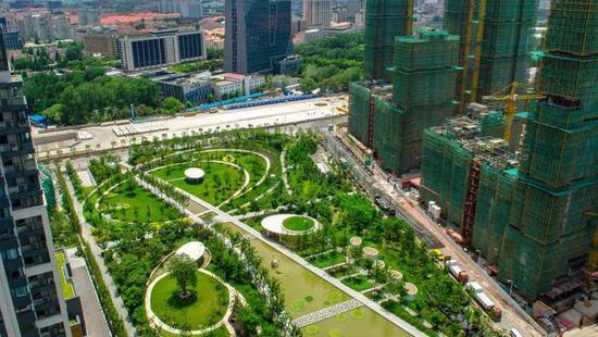上海长滩又有新进展 宝山滨江新空间雏形初现