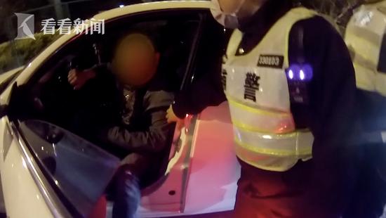 男子着急回上海买菜醉驾从江苏开了107公里 已被刑拘