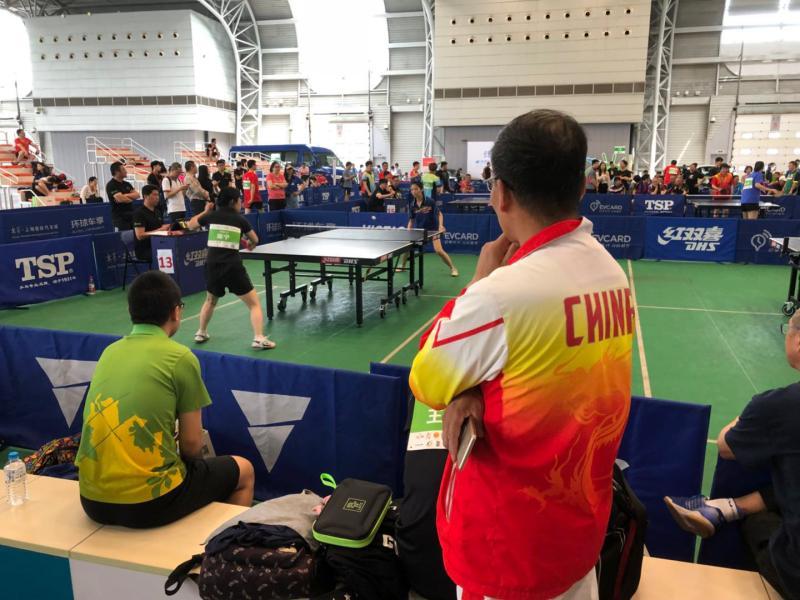 上海爷叔赞叹:申城又回到群众乒乓球的全盛时期