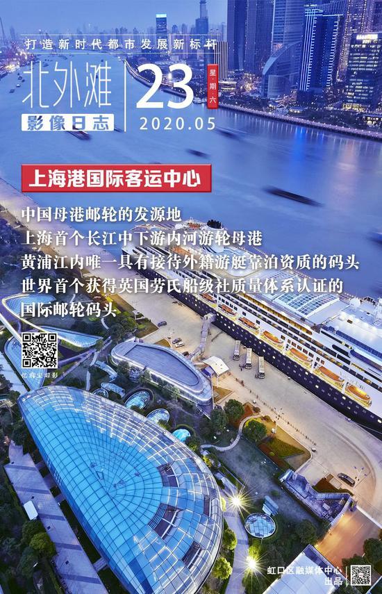 北外滩影像日志:上海港国际客运中心