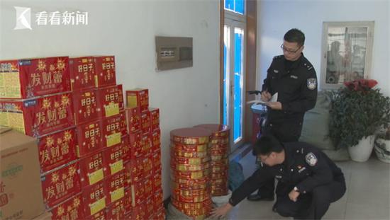 男子偷卖烟花整整27箱被行拘 称老客户要接财神
