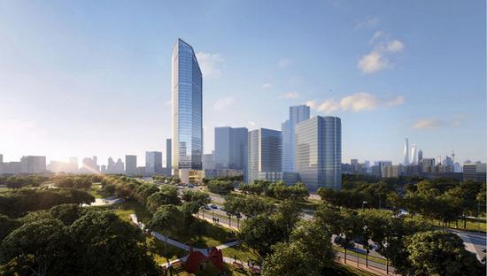 浦东金色中环发展带24个重点项目集中开工 总投资约400亿