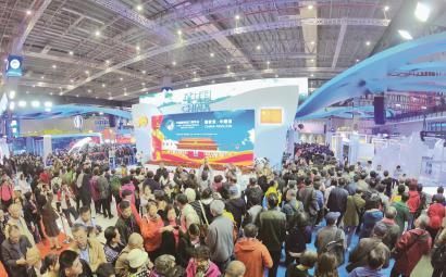 第二届进博会国度展延展首日:中国馆最受宠