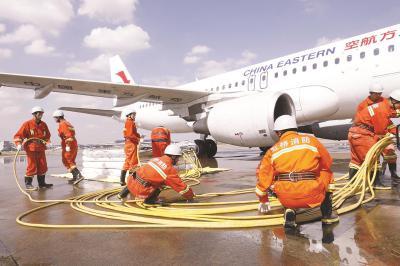 虹桥机场举行有史以来最大规模应急演练 包含5大科目