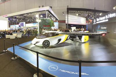 进博会明星展品会飞的汽车引关注 实现亚洲首发