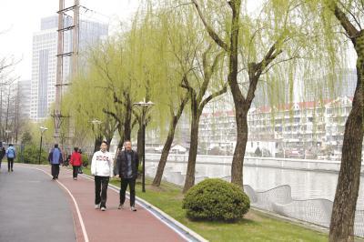 苏州河健身步道长宁段年底建成 串联沿线六座公园绿地