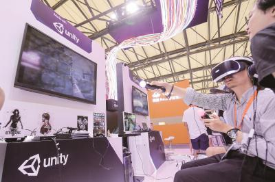第十七届中国国际数码互动娱乐展览会(ChinaJoy)将于8月2日至5日在上海新国际博览中心举办。图为去年展会现场。