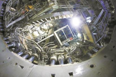 北横通道西线东段隧道顺利推进600环。