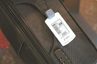 京沪航线推出电子行李牌 旅客可实时查询行李状态