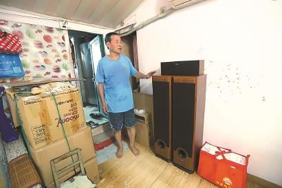 江浦街道160街坊旧改基地集中搬场 老物件保存记忆