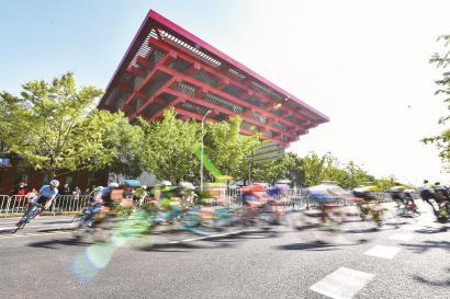 环法上海站掀骑行风 连续三年落户申城