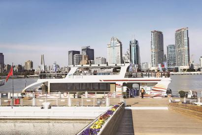 浦江游览新年首班班轮启航棋牌总代 将在徐汇杨浦新增2个船埠