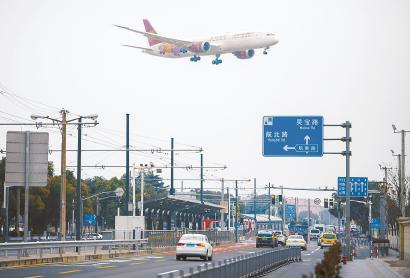 上海機場聯絡線工程已開工