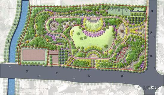 九里亭公园规划图