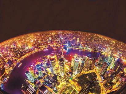 天空之城。 选自画刊《上海》
