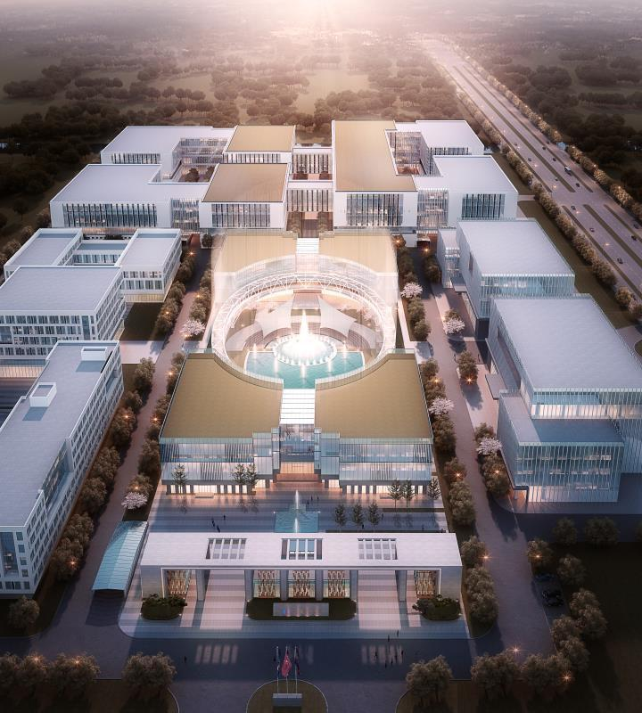 松江启动百亿级医药项目 项目规划4个功能分区