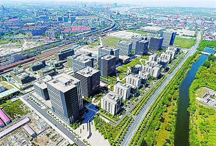 """国家技术转移东部中心所在地""""湾谷科技园"""",杨浦将围绕此重点打 造产业互联网集聚区。 (资料)"""