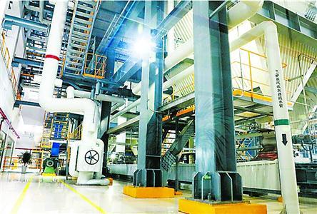 再生能源利用中心采用国际最先进的设备。 秦逸超 摄