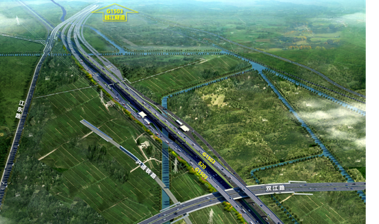 沿江通道浦东段(越江段-五洲大道)开建 郊环线将从C变O