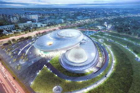 上海天文馆效果图。(上海科技馆提供)