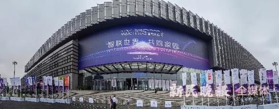 资料图:2020世界人工智能大会 新民晚报记者 陈梦泽 摄