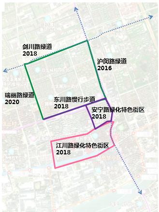 超大线性公园现身闵行 覆盖社区范围达95.7公顷