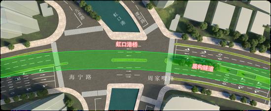 虹口港桥改造工程在即 施工周期8.5个月 来看出行攻略