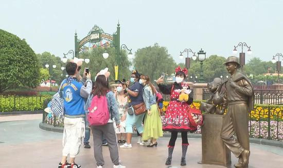 上海国际旅游度假区:伴随浦东开