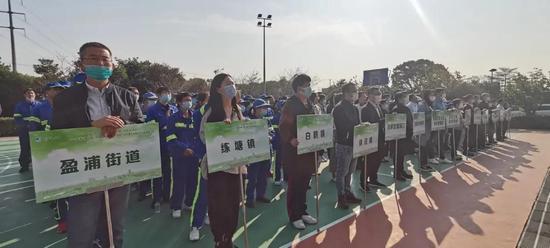 青浦举办绿化市容行业主题实践暨职工技能竞赛活动