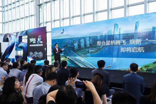 图说:负责中国业务的凯德集团总裁兼中国首席执行官罗臻毓主旨演讲