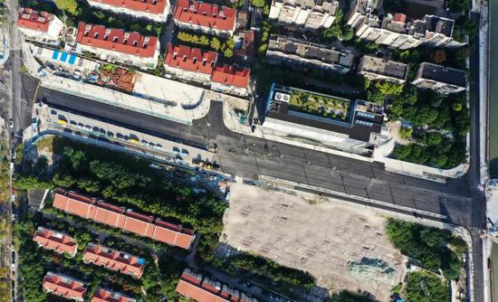 昌平路桥建设顺利完成河西岸沥青下面层施工