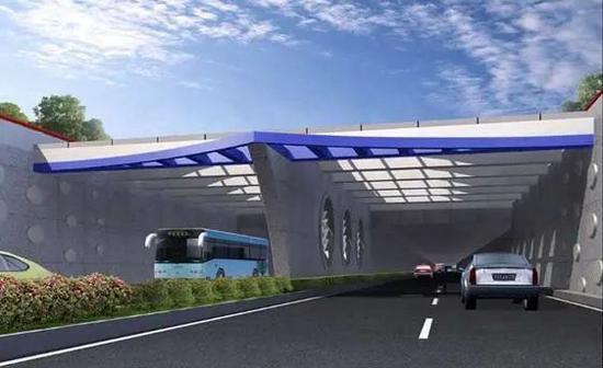 陆翔路-祁连山路双线贯通:连通3个区 北段明年6月开通