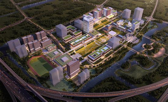 上海交通大学医学院浦东校区工程开工 选址张江科学城