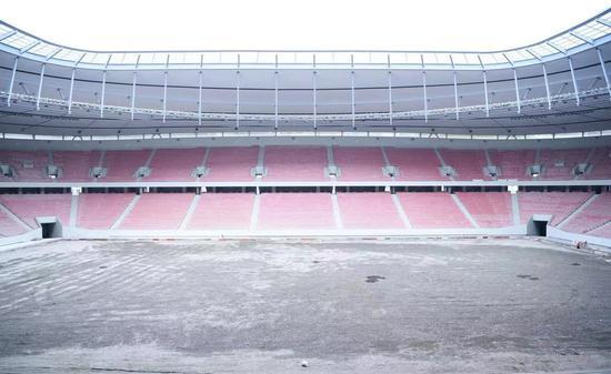 海港新球場預計4月底竣工 極限容納3.7萬人