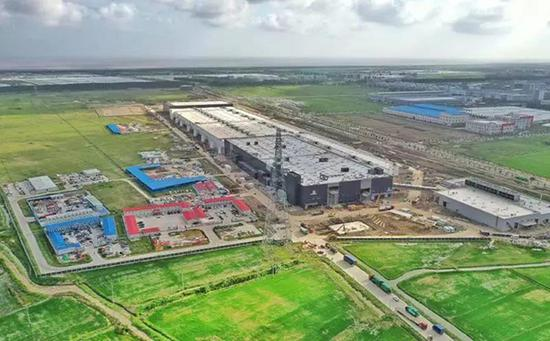 特斯拉超级工厂现状。
