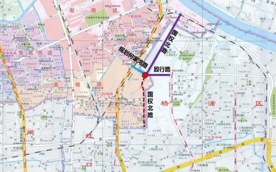 小吉浦桥地理位置示意图