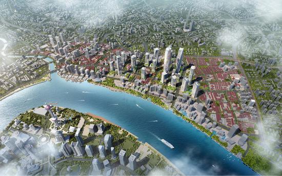 虹口:未来北外滩地区将形成30、60、90交通出行圈