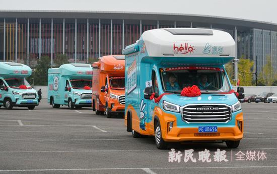 19辆流动餐车进驻进博会 大多数套餐价格在10到20元间