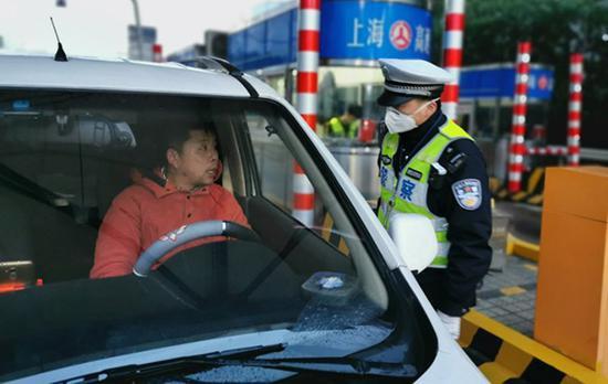 申城高速公路和道口检查站警力全
