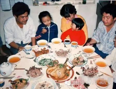 老上海人的年夜饭习俗:味道好还要讨口彩