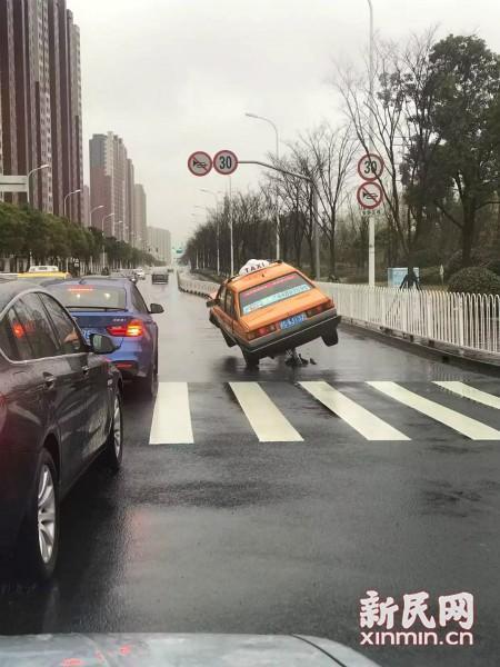 图说:事故现场 市民供图