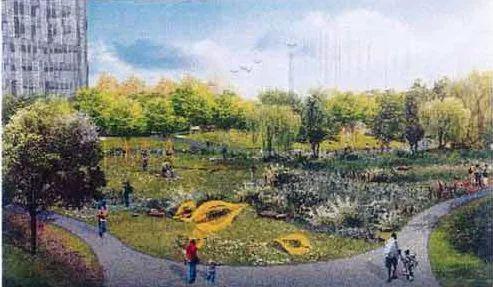 视频:浦东桃林公园将建二期 靠近大型体育馆