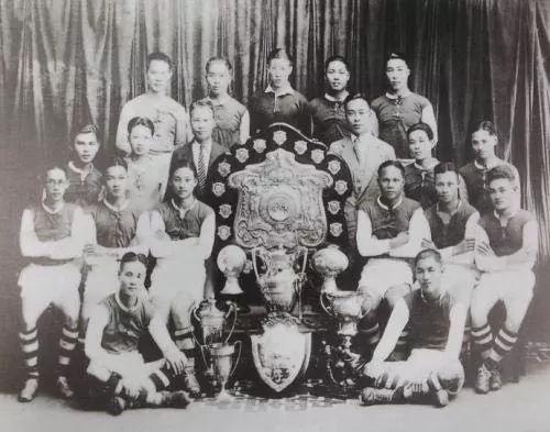 20世纪20年代,上海滩足球劲旅——乐华竞技俱乐部