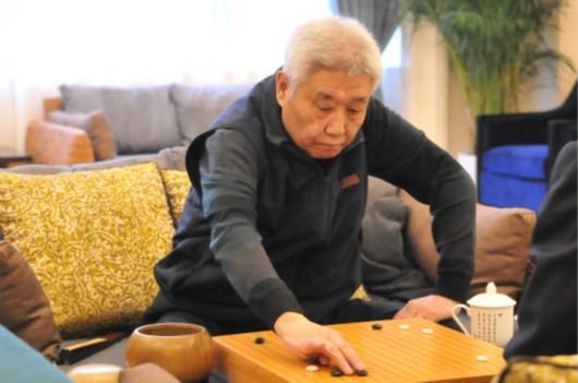 图说:一代围棋国手罗建文(中国围棋队供图)