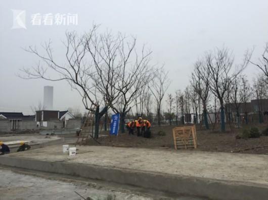 上海首座地下污水厂建成 地面将建科普生态公园