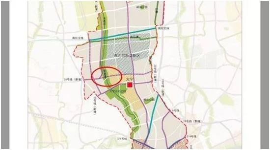 新增地铁26号线中的预控研究轨道通道
