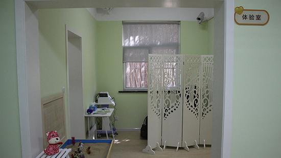 庇护所内的体验室里设有沙盘、放松椅等。 本文图片均由上海嘉定区妇联提供